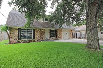 Metairie Single Family Home For Sale: 4724 Belle Drive