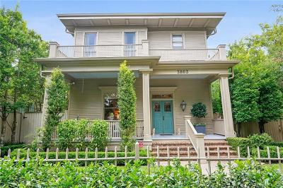 New Orleans Single Family Home For Sale: 3803 Camp Street