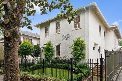 New Orleans Single Family Home For Sale: 1214 Calhoun Street