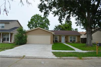 Harvey Single Family Home For Sale: 3864 Chriswood Lane
