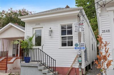 Single Family Home For Sale: 2846 Annunciation Street