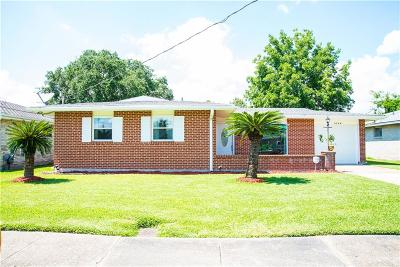 Marrero Single Family Home For Sale: 5136 Randolph Drive