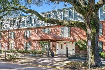 New Orleans Multi Family Home For Sale: 3201 St Charles Avenue #313