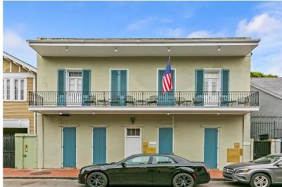 French Quarter Multi Family Home For Sale: 617 Dauphine Street #4