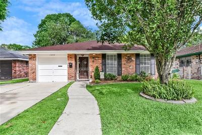 Kenner Single Family Home For Sale: 1420 Roosevelt Boulevard