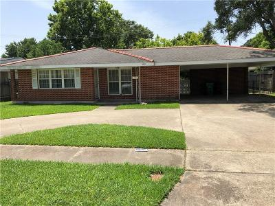 Metairie Single Family Home For Sale: 4312 Purdue Drive