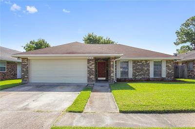 Kenner Single Family Home For Sale: 4240 Loire Drive
