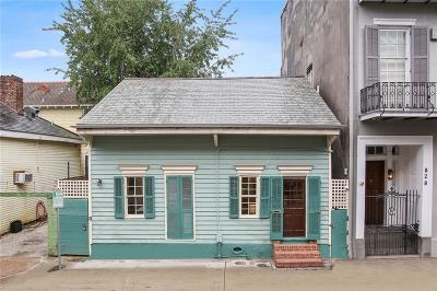 French Quarter Single Family Home For Sale: 830 Burgundy Street