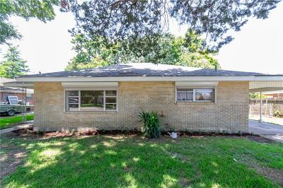 Kenner Single Family Home For Sale: 1809 Taylor Street