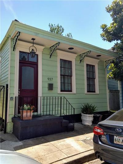 New Orleans Single Family Home For Sale: 937 France Street