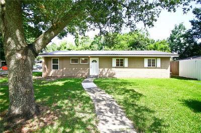 River Ridge, Harahan Single Family Home For Sale: 231 Citrus Road