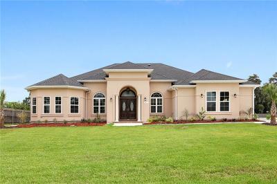 Marrero Single Family Home For Sale: 4261 Bayou Oaks Circle