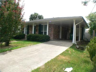 Metairie Single Family Home For Sale: 1324 Sylvia Avenue