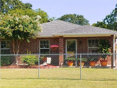 Hahnville LA Single Family Home For Sale: $170,000