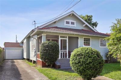 New Orleans Single Family Home For Sale: 1816 S Lopez Street