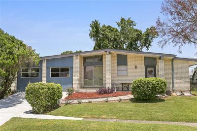 Metairie Single Family Home For Sale: 6801 Asher Street