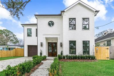 Metairie Single Family Home For Sale: 215 Metairie Heights Avenue