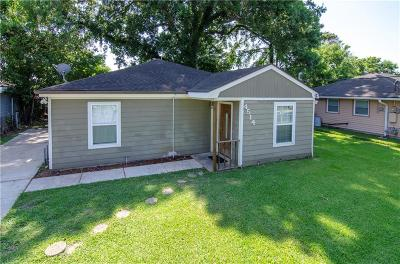Single Family Home For Sale: 4514 Gallier Drive