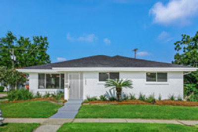 Metairie Single Family Home For Sale: 1000 Melody Drive