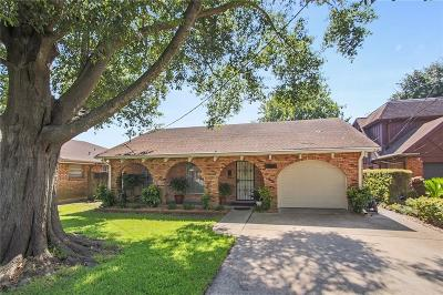 Single Family Home For Sale: 4809 Burke Drive