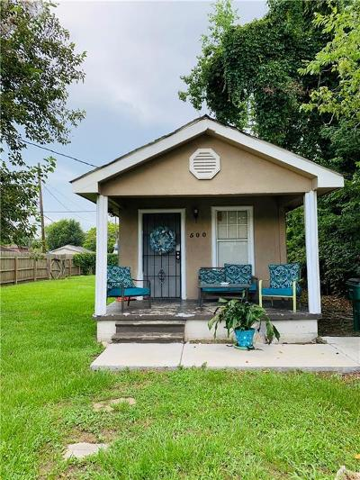 River Ridge, Harahan Single Family Home For Sale: 500 Wilker Neal Avenue