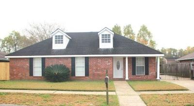 Mereaux, Meraux Rental For Rent: 3017 Fable Drive