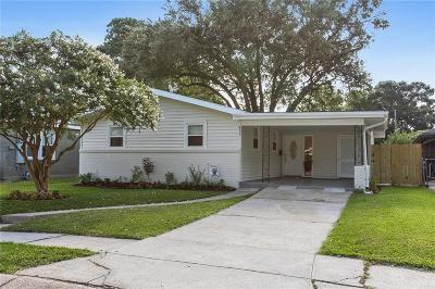 Metairie Single Family Home For Sale: 637 E William David Parkway