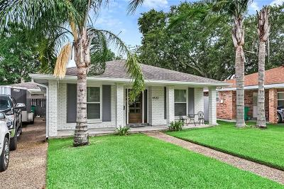 Metairie Single Family Home For Sale: 4532 Fairfield Street