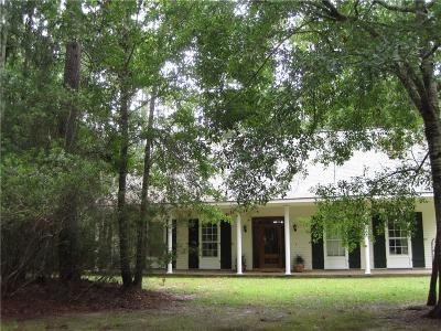 Slidell Single Family Home For Sale: 118 Mayers Trace