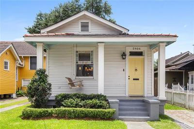 Single Family Home For Sale: 5906 Patton Street