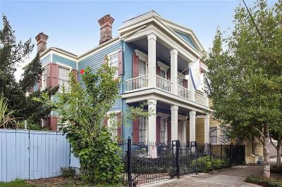 Single Family Home For Sale: 2125 N Rampart Street