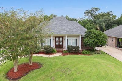 Destrehan, St. Rose Single Family Home For Sale: 133 Oaklawn Ridge Lane