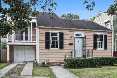 Single Family Home For Sale: 8506 S Claiborne Avenue