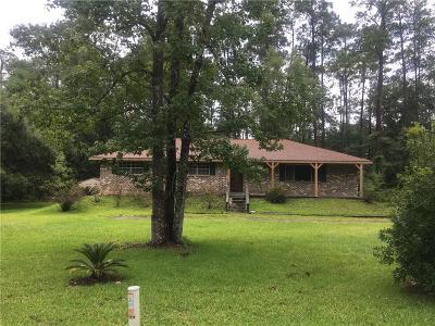 Slidell Single Family Home For Sale: 34124 Robert Street