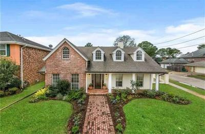 Metairie Single Family Home For Sale: 4716 Richland Avenue