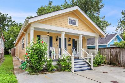 Single Family Home For Sale: 4919 S Derbigny Street
