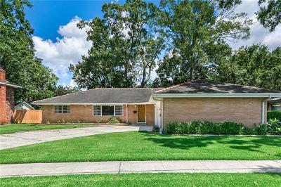 River Ridge, Harahan Single Family Home For Sale: 509 Celeste Avenue