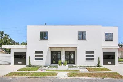 Metairie Townhouse For Sale: 4317 Anthony Street