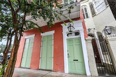 French Quarter Single Family Home For Sale: 1031 Orleans Avenue