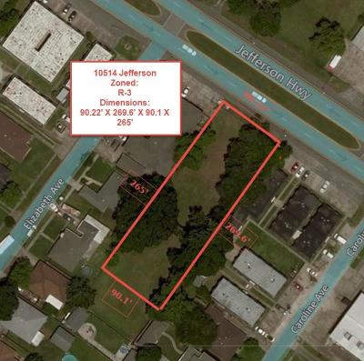 River Ridge, Harahan Residential Lots & Land For Sale: 10514 Jefferson Highway