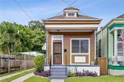 Single Family Home For Sale: 4718 Iberville Street