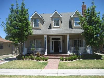 Single Family Home For Sale: 3825 Cypress Street