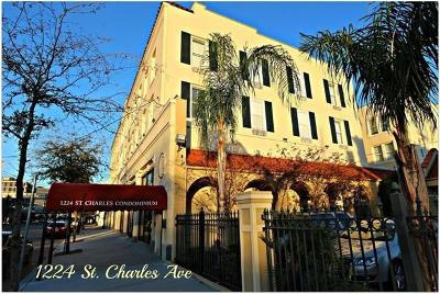 Jefferson Parish, Orleans Parish Multi Family Home For Sale: 1224 St Charles Avenue #309