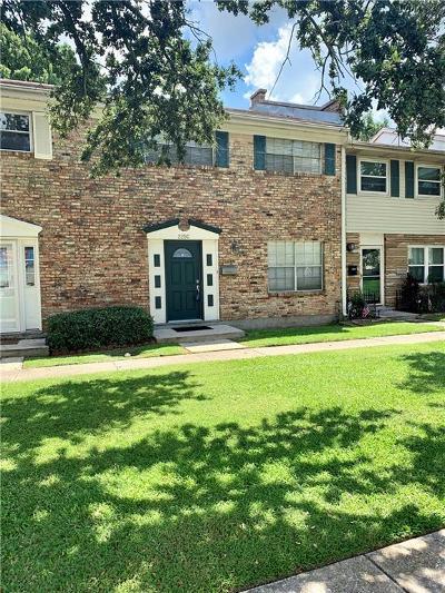 Jefferson Parish, Orleans Parish Multi Family Home For Sale: 225 Wright Avenue #C