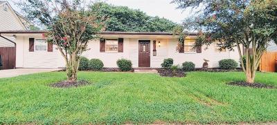 Single Family Home For Sale: 3620 E Louisiana State Drive
