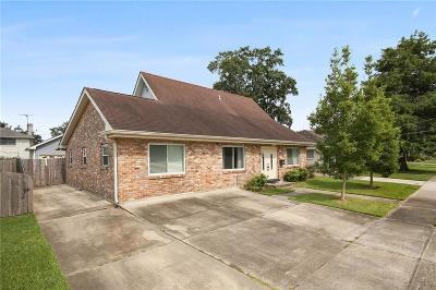 Metairie Single Family Home For Sale: 4929 Purdue Drive