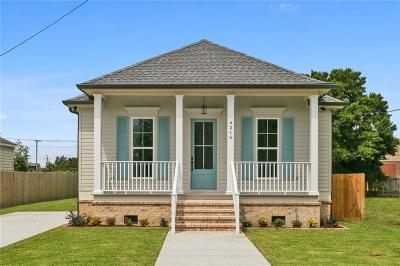 Single Family Home For Sale: 6216 Marigny Street