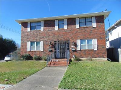 Single Family Home For Sale: 6500 Canal Boulevard