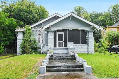 Single Family Home For Sale: 1333 Short Street