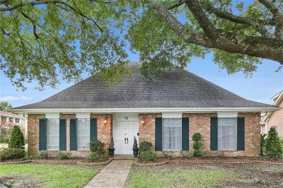 River Ridge, Harahan Single Family Home For Sale: 73 W Imperial Drive